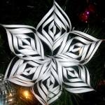 クリスマス飾りは手作り!ペーパーオーナメントの簡単な作り方♪