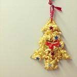 100均手作り♡子どもとマカロニクリスマスツリーを作ろう!