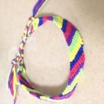 誰でも簡単失敗なし☆斜め編みのミサンガの作り方・編み方
