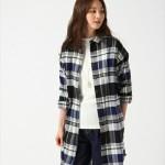 秋冬で使えるレディースロングチェックシャツのベストコーデ14選!