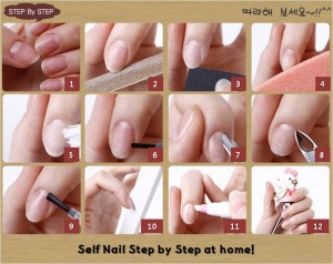 http://www.fashionindopak.com/2013/11/16/take-care-of-nails-and-apply-nail-polish/self-nail-step-by-step/