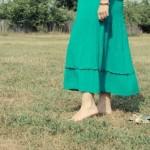 秋はロングスカートを着こなしてスレンダー美人に♡レトロ&シック♪