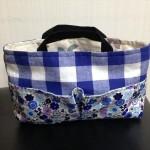 簡単型紙のバッグインバッグの作り方